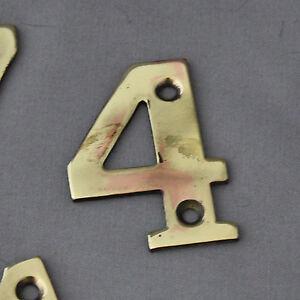 Antique Victorien En Laiton Massif Chiffres #4 7ovqRNPi-07215542-226013243