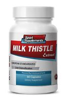 Milk Thistle Extract - Detoxification & Liver Support. Organic (1 Bottle)