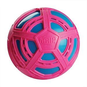 NEW-BRITZ-039-N-PIECES-E-Z-GRIP-SOCCER-BALL-PINK-LIGHT-BLUE-BMA853-OUTDOOR-TOYS-BALL