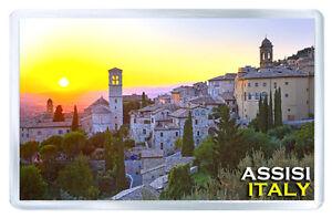 ASSISI ITALY MOD2 FRIDGE MAGNET SOUVENIR IMAN NEVERA
