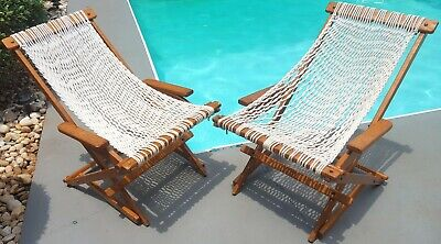 Nags Head Hammock Cumaru Chair Pair Folding Rocker