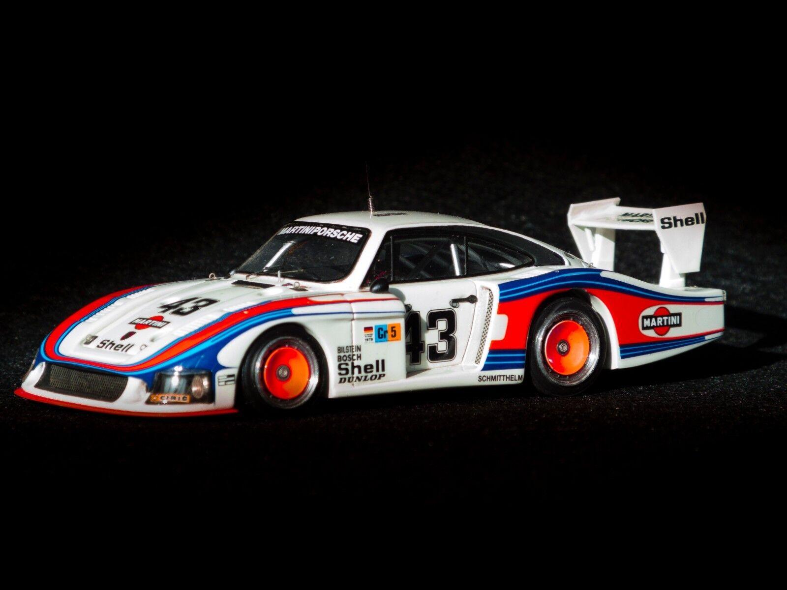 Mr collection Porsche 935 Moby dick Martini  Le mans 1978 1 43 no AMR Spark
