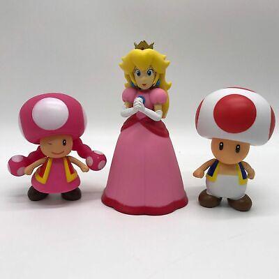 "New Super Mario Bros Collectible Princess Peach PVC Action Figure Toy 5.5/"""