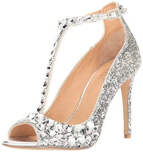 Jewel Badgley Mischka damen Conroy Dress Sandal- Pick SZ Farbe.