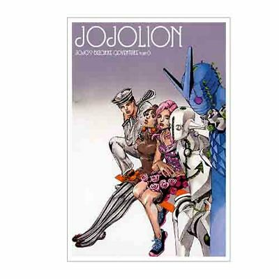 Hirohiko Araki limited Jojo Ripples of adventure Part 8 Jojolion Postcard 2 set
