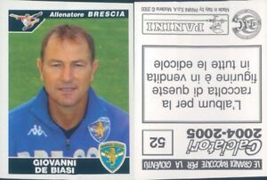 CALCIATORI-PANINI-2004-05-Figurina-sticker-N-52-NEW