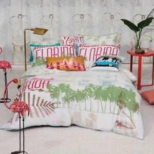 Linen-House-Miami-Florida-White-Bedding-Double-Quilt-Duvet-Cushion-Cover