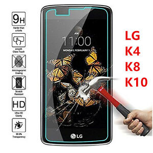 HD-Clear-Tempered-Glass-Curved-Protector-Screen-For-LG-K4-K8-K10-V10-2017-NEW