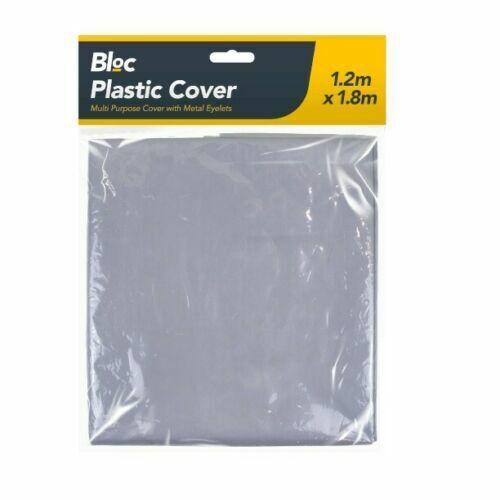 PLASTIC MULTI PURPOSE COVER Metal Eyelets Cars BBQ Motorbikes Rain Dust cover UK