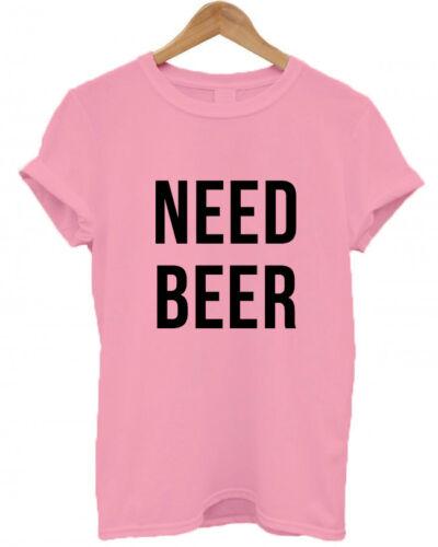 Matching Set Dad Mum // Gift T Shirt Baby NEED BEER // NEED MILK Christening