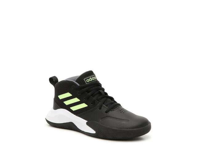 Wide Basketball Shoes Black Green Size