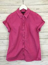 Women's Tommy Hilfiger Shirt - US12 UK16 - Pink - Great Condition