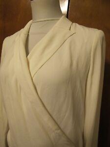 Anthropologie-Sttitwa-women-039-s-off-white-lined-evening-blazer-size-0
