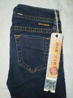 Mek Denim Kazan Womens Legging Skinny Denim Jeans Size 27 X 30.5 $120 Dark