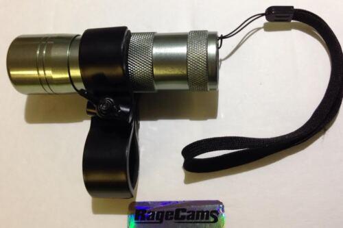 12 IR DEL vision de nuit infrarouge Illuminateur Gun Mount pour ContourROAM Caméra HD