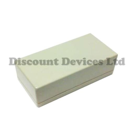 Grey ABS Plastic Enclosure Small Project Box For Electronic Circuits