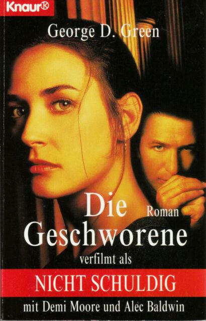 Buch - George D. Green - Die Geschworene (Nicht schuldig): Roman