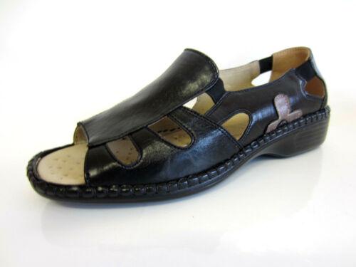 Eaze F3R055 Ladies Sandals Black R12B