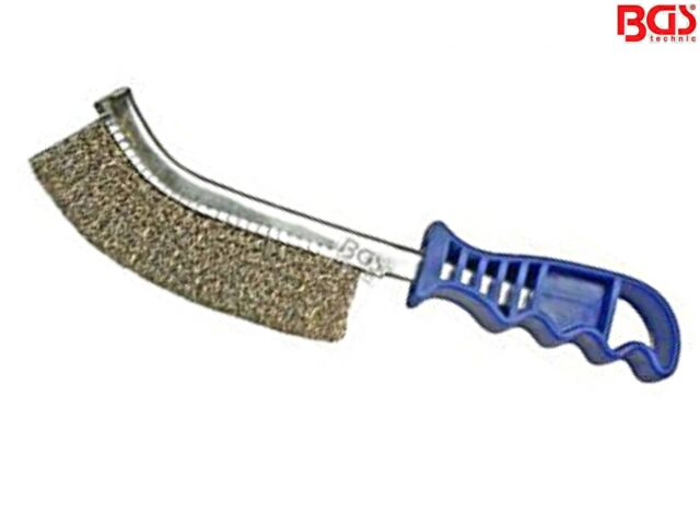 BGS 3171 Drahtbürste mit Stahlborsten Stahl-Bürste 260mm