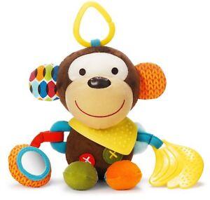 Skip-Hop-BANDANA-BUDDIES-ACTIVITY-TOY-MONKEY-Baby-Toys-Activities-BN