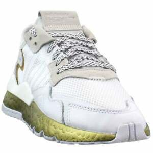 adidas-Nite-Jogger-Lace-Up-Womens-Training-Sneakers-Shoes-Casual-White