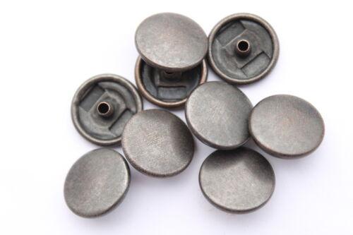 10 Komplett Sets mit 15mm Druckknöpfe Schnapp Befesstiger Silber oder 27 Farben