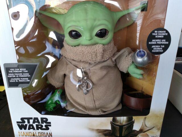 Star Wars The Mandalorian The Child Baby Yoda Costco Exclusive Disney Mattel