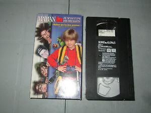Maman-Je-M-039-occuper-Des-Mechants-Home-Alone-3-VHS-French-Alex-D-Linz-Teste