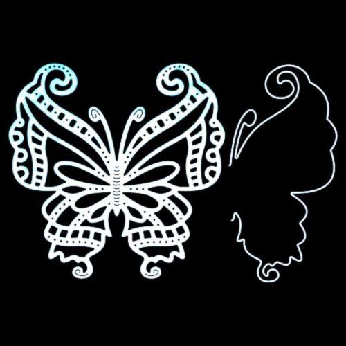 Butterfly Metal Die Cut Mayan Cheery Lynn Cutting Dies Animals,Insects B533