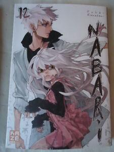 Nuevo-Nabari-Vol-12-Kamatani-Yuki-Kaze-Manga-VF-Ninja-Combate-Libro-Shonen