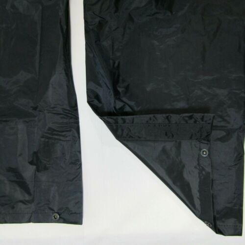 Adults Childrens Regatta Stormbreak Waterproof Windproof Overtrousers Black Navy