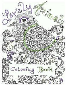 510 Lovely Animals Coloring Book Picture HD