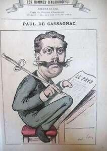 Cassagnac-Pressman-Politique-Caricature-Gill-the-Men-Today