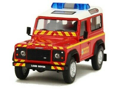 Land Rover Defender BMPM Pompiers OLIEX