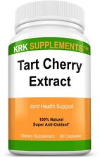 Tart Cherry Extract 900mg Antioxidant Anthocyanins for Gout Joint Pain Arthritis