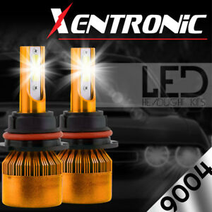 XENTRONIC-LED-HID-Headlight-kit-9004-HB1-White-for-1987-1993-Mercedes-Benz-190E