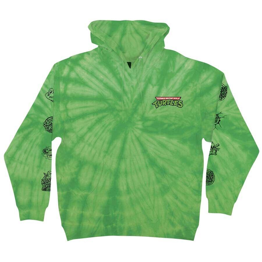 Santa Cruz x TMNT Teenage Mutant Ninja Turtles Mutagen Lime Hooded Sweatshirt