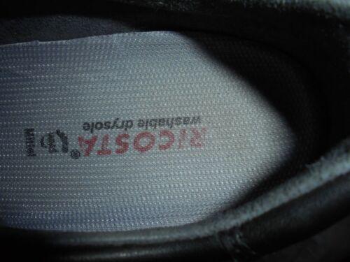 Chaussures 39 Lacets Unique Taille Femme Cuir À Vgc Ricosta Eu Uk 6 En Noir rwxqrnpZ6