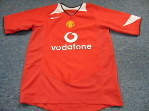info for d87e5 e638e Details about NIKE TOTAL 90 MANCHESTER UNITED FOOTBALL SOCCER JERSEY SIZE  YOUTH M futbol