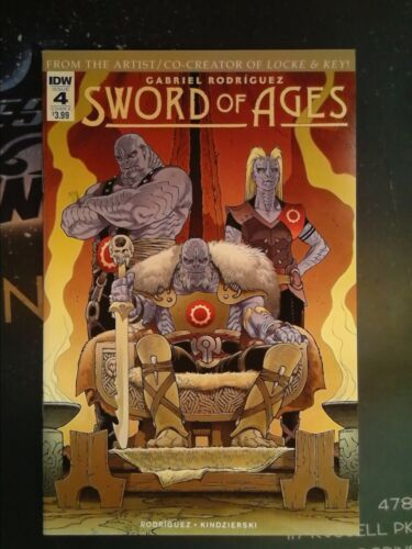 Sword of Ages #4 IDW VF//NM 9.0 CB5023