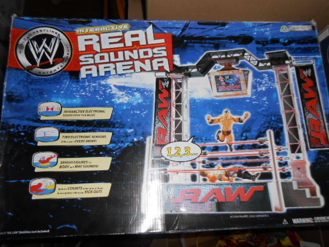 WWE ARENA REAL SOUNDS INTERACTIVE Raw WRESTLING New