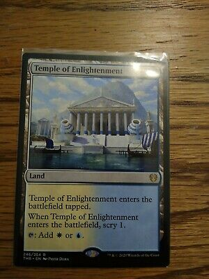 X4 Temple of Enlightenment 4RCards FOIL  Theros Beyond Death