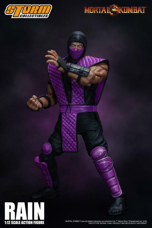 Storm Collectibles Collectibles Collectibles Rain Mortal Kombat NYCC 2018 Exclusive Figure cf0705