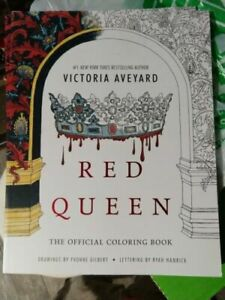 Red Queen The Official Coloring Book By Victoria Aveyard 2016 Paperback