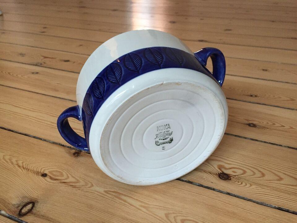 Porcelæn, Skål med håndtag, Rörstrand