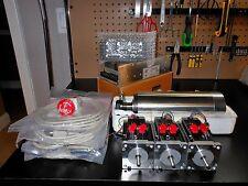 Gecko G540 Rev 8, & 3 Nema 23 600oz 1/4in-48v 12.5a Power Supply-2.2KW Spindle