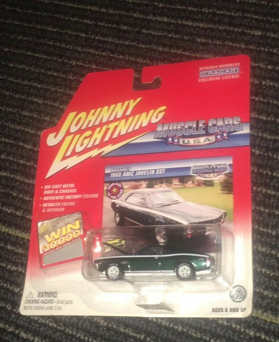 JOHNNY WHITE LIGHTNING 1968 68 AMC JAVELIN SST MUSCLE CARS USA WL CHASE