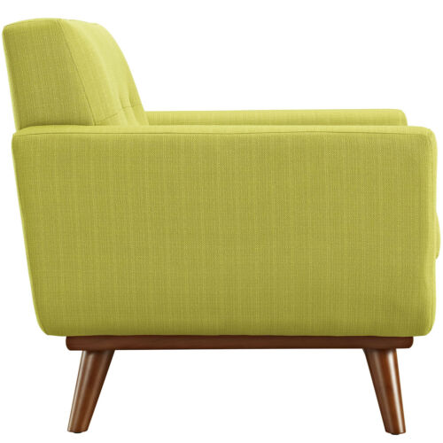 Modway Engage Upholstered Fabric Armchair - Wheatgrass 848387017460