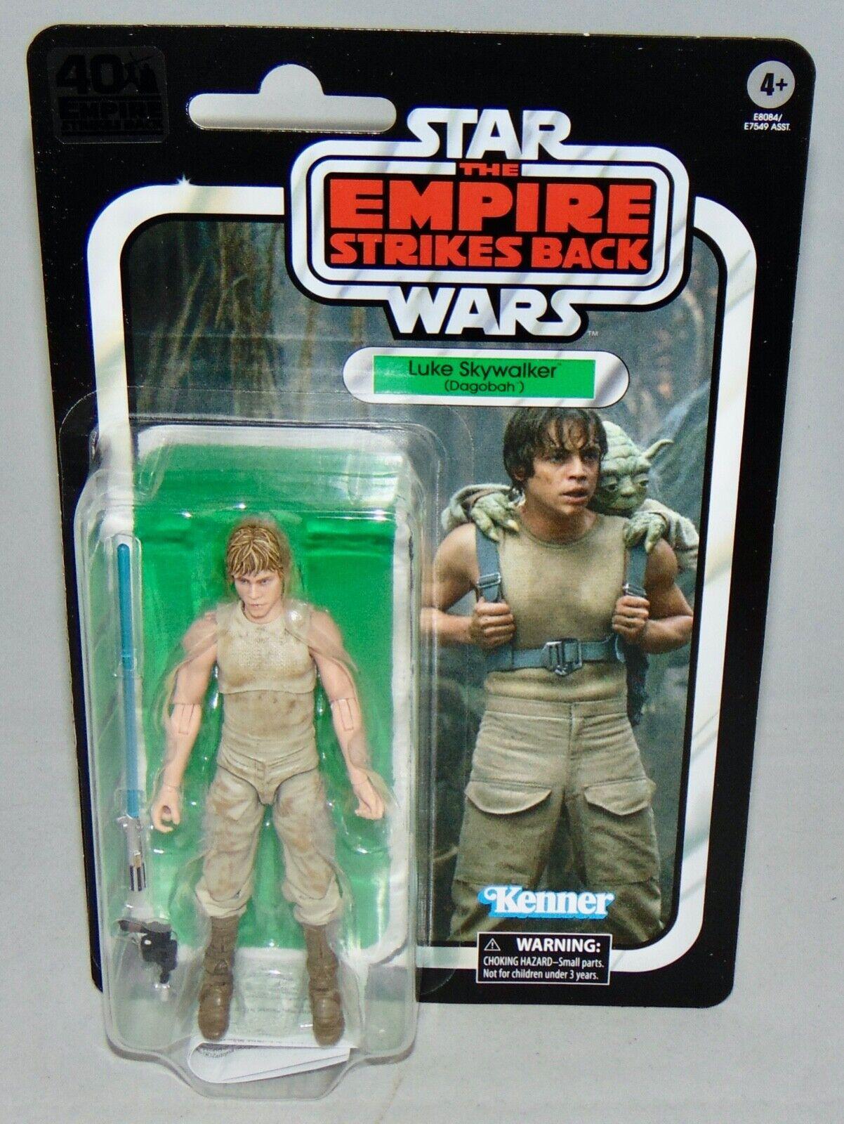 "Star Wars Black Series 40th ESB Luke Skywalker Dagobah 6/"" Action Figure LOOSE"