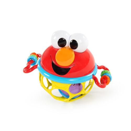 Sesamstrasse mit Elmo Jingle /& Shake Ball mit Rasselelement und Greifringen